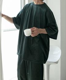 ルームウェア パジャマ 【セットアップ着用可】ベロアワンマイルTシャツ|ZOZOTOWN PayPayモール店
