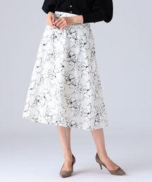 スカート EFFE BEAMS / ホワイトリリー タックスカート|ZOZOTOWN PayPayモール店