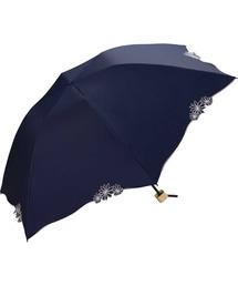 折りたたみ傘 遮光バードケージリムフラワーmini ZOZOTOWN PayPayモール店