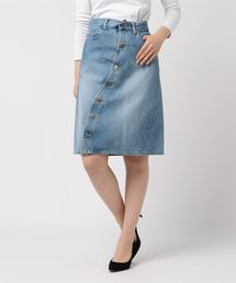 スカート デニム TWISTED WASHHED DENIM SKIRT|ZOZOTOWN PayPayモール店