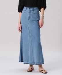 スカート デニム 《Maison de Beige》デニムロングスカート|ZOZOTOWN PayPayモール店