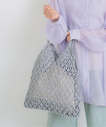 バッグ カゴバッグ 巾着バッグ付き編み トートバッグ|ZOZOTOWN PayPayモール店