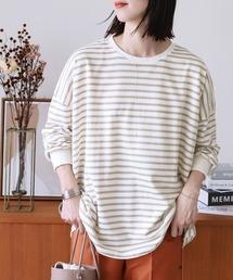 tシャツ Tシャツ ボーダービッグプルオーバー|ZOZOTOWN PayPayモール店