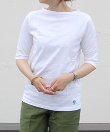 tシャツ Tシャツ ORCIVAL/オーシバル 40/2 ボートネックハーフスリーブ ソリッド BOATNECK HALF SLEEVE SOLID|ZOZOTOWN PayPayモール店