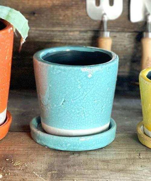日本 花瓶 COLOR POT NEW売り切れる前に☆ GLAZED