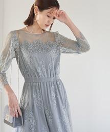 ドレス 【Mon E'toile】レースDRESS ZOZOTOWN PayPayモール店