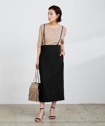 スカート サロペットタイトスカート|ZOZOTOWN PayPayモール店