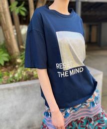 tシャツ Tシャツ シャイニー切り替えプリントTee ZOZOTOWN PayPayモール店