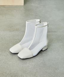 ブーツ シースルーメッシュブーツ|ZOZOTOWN PayPayモール店
