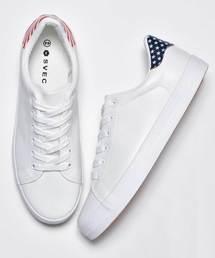 スニーカー スニーカー USA ユニオンジャック プリント / SVEC シュベック Sneaker USA Union Jack Print|ZOZOTOWN PayPayモール店