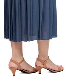 サンダル シルエットと履き心地を追求したセパレートストラップ美脚サンダル ZOZOTOWN PayPayモール店