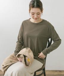 tシャツ Tシャツ F by ROSSO スーピマシアーロングTシャツ ZOZOTOWN PayPayモール店