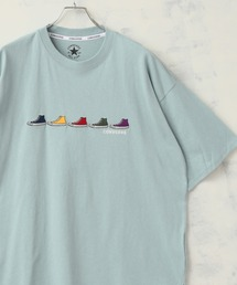 tシャツ Tシャツ 【CONVERSE/コンバース】FIVE シューズ刺繍 半袖Tシャツ|ZOZOTOWN PayPayモール店