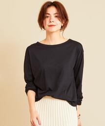 tシャツ Tシャツ 【WEB限定】by ※∴ボートネックドロップスリーブロングTシャツ ZOZOTOWN PayPayモール店