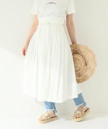 スカート 【ARMEN/アーメン】 PLEATED WRAP SKIRT:スカート ZOZOTOWN PayPayモール店