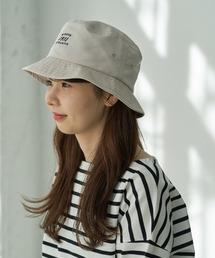 帽子 ハット 【DISCUS別注】パイピングロゴ刺繍バケットハット ZOZOTOWN PayPayモール店