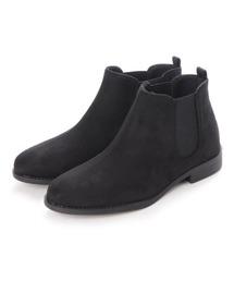 ブーツ 履き心地やわらか、美シルエットサイドゴアブーツ|ZOZOTOWN PayPayモール店