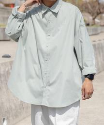 シャツ ブラウス フラワー刺繍オーバーシャツ|ZOZOTOWN PayPayモール店
