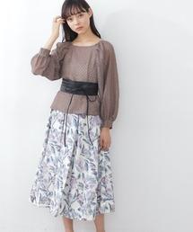 スカート ◇アートフラワープリントスカート|ZOZOTOWN PayPayモール店