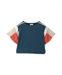 tシャツ Tシャツ パッチワークスリーブトップス|ZOZOTOWN PayPayモール店