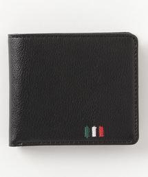 財布 イタリアカラー刺繍 レザー二つ折り財布 ZOZOTOWN PayPayモール店