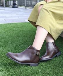 ブーツ 履き心地やわらか、美シルエットショートブーツ|ZOZOTOWN PayPayモール店
