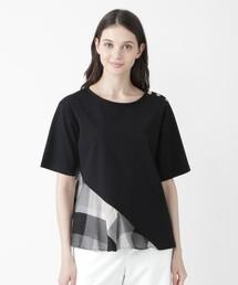 tシャツ Tシャツ アシンメトリーカットソー|ZOZOTOWN PayPayモール店