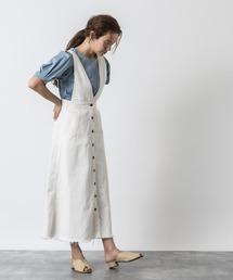ワンピース ジャンパースカート 10オンスデニムジャンパースカート|ZOZOTOWN PayPayモール店