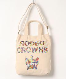 ショルダーバッグ バッグ 【RODEO CROWNS/ロデオクラウンズ】 FLOWER PT SHOULDER|ZOZOTOWN PayPayモール店