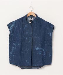 シャツ ブラウス MANASTASH/マナスタッシュ WS BLEACHOUT SHIRTS ウィメンズブリーチアウトシャツ|ZOZOTOWN PayPayモール店