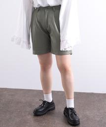 パンツ 【kutir closet】エコレザーショートパンツ|ZOZOTOWN PayPayモール店