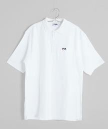 ポロシャツ 【FILA/フィラ】ロゴ刺繍 綿100% 半袖ポロシャツ|ZOZOTOWN PayPayモール店