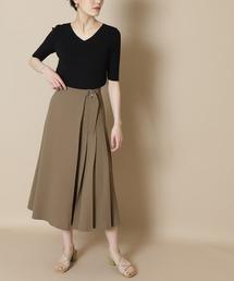 スカート 【S Size Line】◆サイドプリーツフレアスカート|ZOZOTOWN PayPayモール店