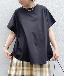 tシャツ Tシャツ おしゃれ見えするシルエット 接触冷感ポンチョカットソー|ZOZOTOWN PayPayモール店