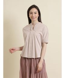 tシャツ Tシャツ エムエフエディトリアルレディース/m.f.editorial:Women シルケット天竺 7分袖ゆるブラウソー|ZOZOTOWN PayPayモール店