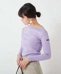 tシャツ Tシャツ 【Le minor/ルミノア】B BORDEE ベーシック無地ロンT|ZOZOTOWN PayPayモール店