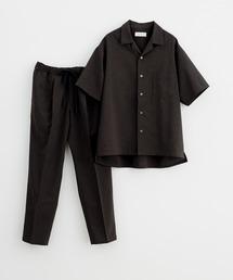 セットアップ 《WEB限定》【RIRANCHA】吸水速乾 オープンカラーシャツ セットアップ/Quickdry|ZOZOTOWN PayPayモール店