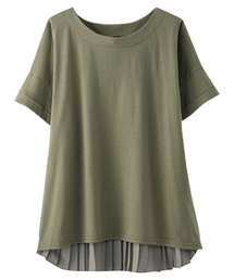 tシャツ Tシャツ バックプリーツ使いプルオーバー|ZOZOTOWN PayPayモール店