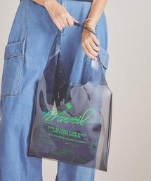 トートバッグ バッグ 【MUVEIL(ミュベール)】《STUDIOUS別注》クリアビニールバッグ+アニマルプリントポーチ|ZOZOTOWN PayPayモール店