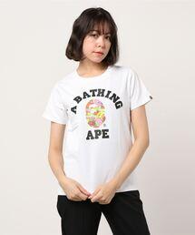 tシャツ Tシャツ ABC CAMO FLOWER COLLEGE TEE L|ZOZOTOWN PayPayモール店