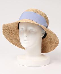 帽子 ハット カカトゥ kakatoo / ラフィア幅広リボンハット ZOZOTOWN PayPayモール店