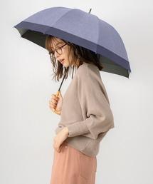 傘 完全遮光晴雨兼用 ショート傘 ダンガリー無地切替 ZOZOTOWN PayPayモール店