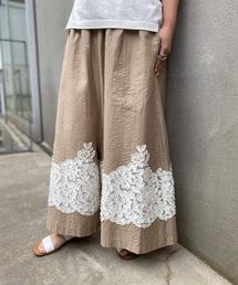 パンツ 裾ジャガードサルエルバギー|ZOZOTOWN PayPayモール店