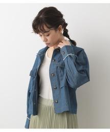 ジャケット ミリタリージャケット クロップドシャツジャケット|ZOZOTOWN PayPayモール店