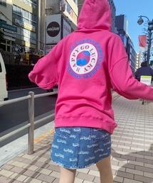 パーカー HAPPY GO LUCKY SWEAT フーディ|ZOZOTOWN PayPayモール店