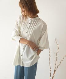 シャツ ブラウス タックドレスシャツ/ブザムシャツ|ZOZOTOWN PayPayモール店