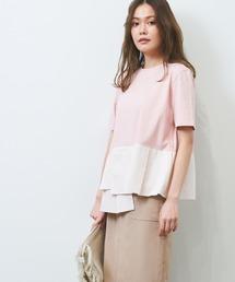 tシャツ Tシャツ ペプラム デザイン カットソー ショートスリーブ|ZOZOTOWN PayPayモール店