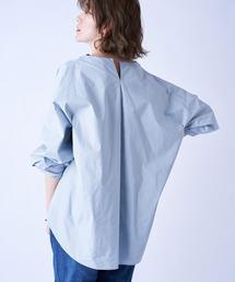 シャツ ブラウス さりげなく抜け感を与える 衿タック袖ボリュームブラウス|ZOZOTOWN PayPayモール店