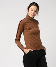 tシャツ Tシャツ 起毛ワイドリブ ベロアライン タートルネックTOPS|ZOZOTOWN PayPayモール店
