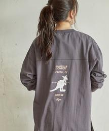 チュニック MIX ロゴ裾ラウンドチュニック|ZOZOTOWN PayPayモール店